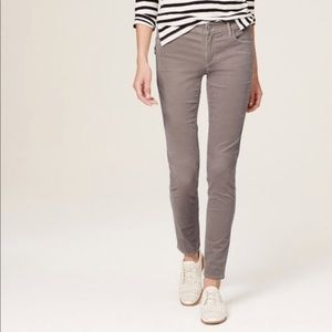Ann Taylor Loft Gray Modern Skinny Ankle Jeans 29